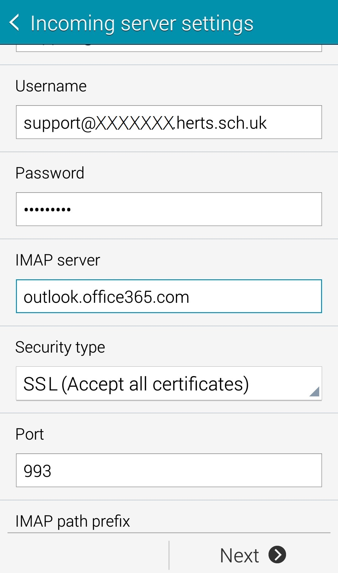 How To Setup An Office365 Email On Android Con Ed Ltd